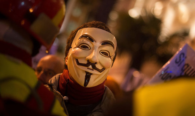 Did Hacktivist Group Anonymous Take Down Minneapolis PD Website?